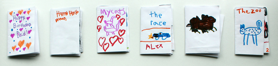 one-page books - Art after School