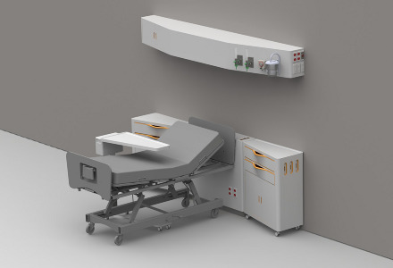 Medical Headwall Systems Entire Headwall System