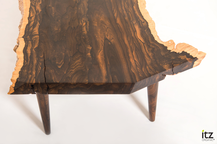 Coffee Table Ziricote Itz Mayan Wood Furniture